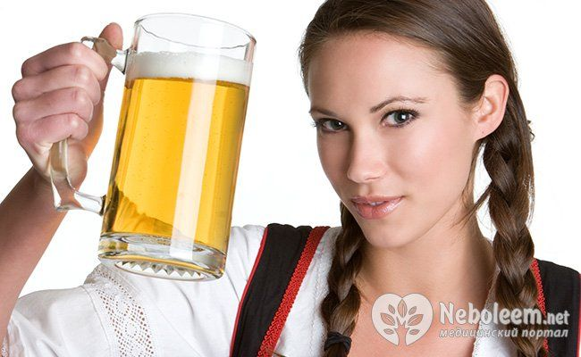 Маска на основе пива