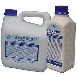 Дезинфицирующий концентрат Аламинол