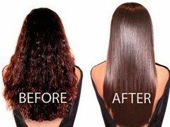 Бразильское выпрямление волос - процедура разглаживания волос с помощью кератина
