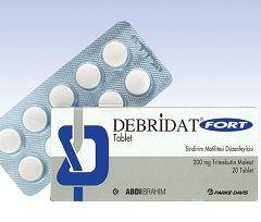 Таблетки Дебридат 200 мг
