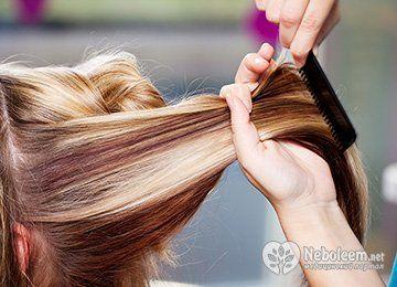 Калифорнийское мелирование на русые волосы - тонкости и секреты