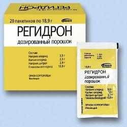 Порошок для приготовления раствора для перорального приема Регидрон