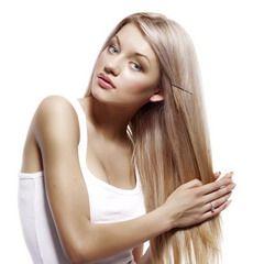 Нанесение силиконовой маски на волосы