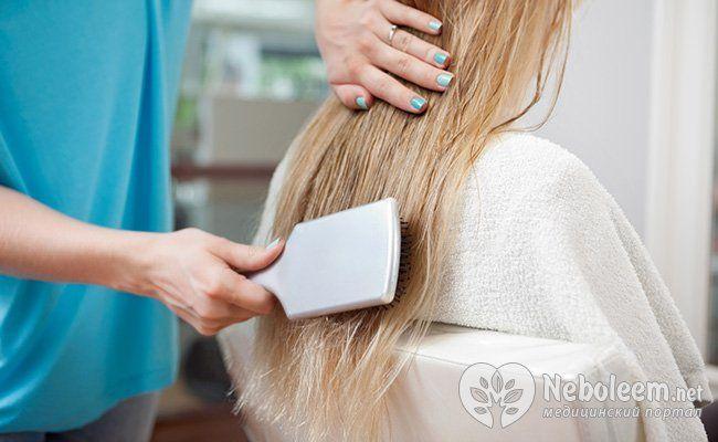 Как нужно расчесывать волосы