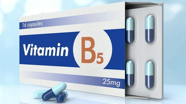 Витамин B5 в капсулах