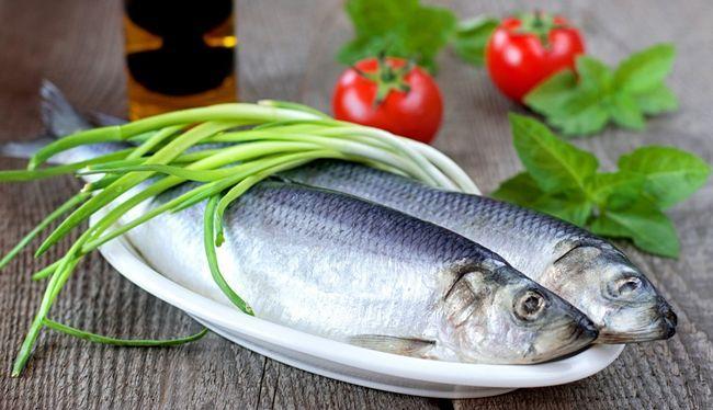 Сельдь - один из основных источников витамина D