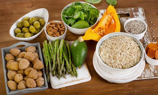 Содержание витамина E в продуктах