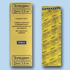 Zoladex în doză de 3,6 mg